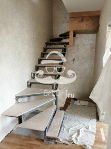 КП Кембридж металлические Лестницы